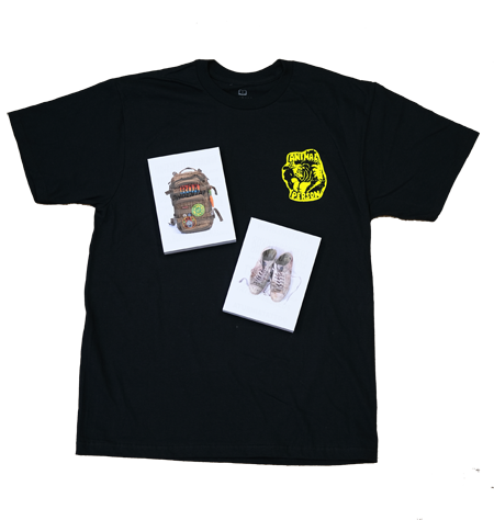 Non-stop Tattooing Book and T-shirt