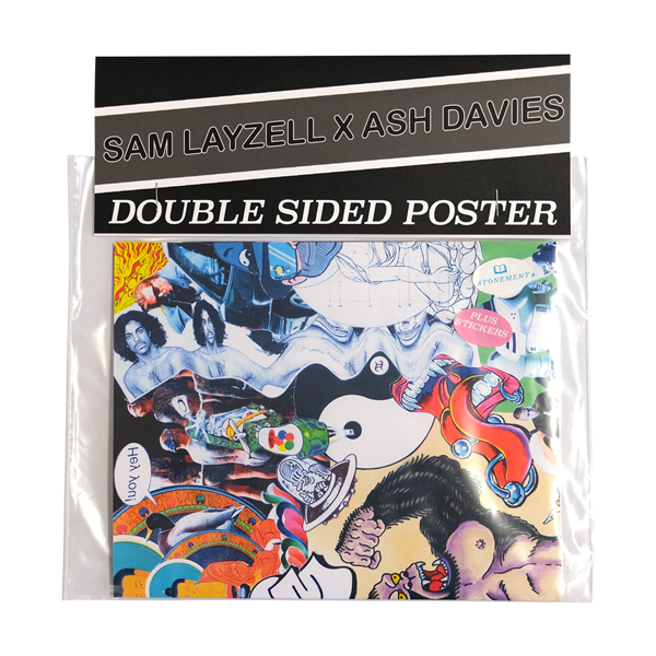 Sam Layzell X Ash Davies double sided poster